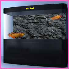 Fish Tank Backdrop Decorations Self Adhesive Stone Texture Aquarium Background