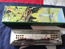 M. Hohner Echo Harp Double Sided Harmonica Key A & D 56/96