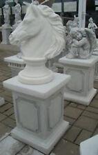 Pferdekopf Pferdebüste Sockel Pinienzapfen  Engelfiguren  Grabengel  Pharao
