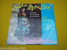 Sara Montiel la violetera Mexico edit SEALED factory LP Ç