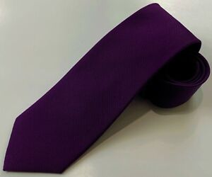 "NWOT Jos. A. Bank Executive Necktie Tie, PURPLE, 59"" x 3-1/8"""