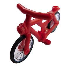 Lego Bicicleta en Rojo Nuevo 4719c02 Bike Bicycle Blanco Rueda Radel City Basics