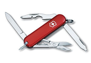 VICTORINOX MANAGER RED - SWISS ARMY POCKET KNIFE - LENGTH 58 MM - 10 TOOLS