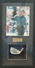 Authentic Autographed Wedge with Picture Tom Kite - no COA
