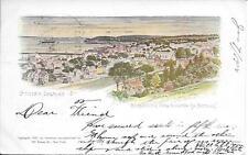 Stapleton (View Narrows) Staten Island NY Vintage postcard postally used in 1904