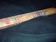 2 X Räucherstäbchen Hem African Musk - Incense Sticks