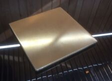 """1/8 BRASS SHEET PLATE NEW 4""""X4"""" .125 Thick *CUSTOM 1/8 SIZES AVAILABLE*"""