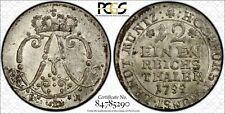 Germany-Munster 1/12 Thaler 1755 IK MS63 PCGS silver KM#187 FINEST POP 1/0