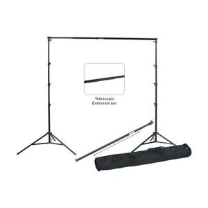 Backdrop Supporting  stand 9X10Ft telescopic pole heavy Duty with 3 clamps, bag
