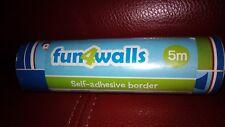 NEW Fun4Walls Pirates Yo Ho Ho Self Adhesive Wall Border 5m BO50059 Batch 5