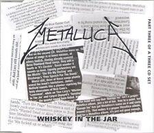 METALLICA - Whiskey in the Jar Part 3 ~ RARE CD SINGLE ~ NEW!!! - Garage Inc.