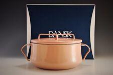 Dansk Kobenstyle 2 Qt. Quart Casserole BEIGE Enamel Dutch Oven  NEW IN BOX