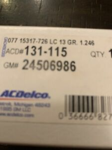 131-115 AC Delco Thermostat New for Chevy Olds Le Sabre Somerset S10 Pickup