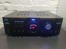 PYLE Home Audio Amplifier / AMP Receiver 3000 Watt 4 Channel Surround Sound DVD