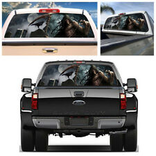 """Rear Window Graphic Decal Tint Cemetery Sticker For Truck SUV Jeep(22""""x65""""Large)"""
