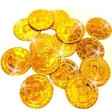 German Trendseller® - 20 x Goldmünzen für die Piraten Party | Schatzsuche