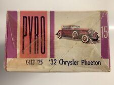 Maqueta de coche marca Pyro 15 C 413-125 ´32 Chrysler Phaeton escala 1:32