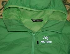 Womens ARCTERYX Green Full Zip ATOM LT Hoody Jacket Large L