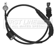 PEUGEOT PARTNER 1.9D Clutch Cable 02 to 06 Firstline 2150CE 9645931680 Quality
