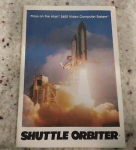 Atari 2600 SHUTTLE ORBITER Manual Instructions Booklet 1983