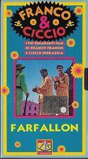 FRANCO E CICCIO - FARFALLON (1974) VHS