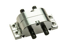 CNC Aluminum Transfer Case for 1/10 RC Crawlers Trucks AXIAL SCX10 RC4WD Silver