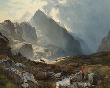 Sidney Richard Percy Snowdon From Yfoelberfedd  24'  CANVAS