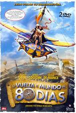 PELICULA DVD LA VUELTA AL MUNDO EN 80 DIAS EDICION ESPECIAL 2 DISCOS PRECINTADA