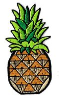 Écusson patche ananas fruit patch décoratif pour vêtements thermocollant