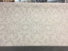 Damask Linen Cotton Polyester Drapery Upholstery fabric by the yard
