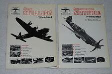 Wingspan Publications: Short Stirling & Supermarine Spitfire remembered *2 Lot*