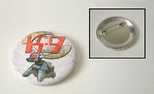 DOCTOR WHO VERY RARE K9 NEW SERIES PROMOTIONAL LARGE TOUR BUTTON PIN BADGE!