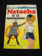 NATACHA Et le maharadjah BD PUBLICITAIRE