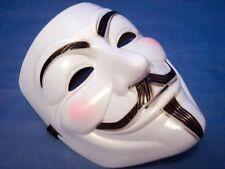 Máscara V de Vendetta - Careta Anonymous - Guy Fawkes - Disfraz Adulto Unisex