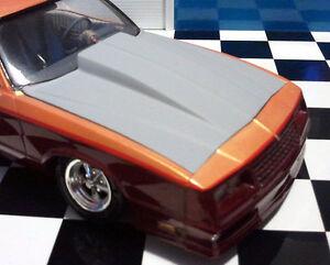 Resin Cowl Hood for '86, 87 Monte Carlo Revell, Monogram 1/24, also 87 Aeroback