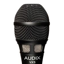NEW Audix VX5 Vocal Condenser Microphone w/ Clip Pouch Pad Attenuation Roll Off