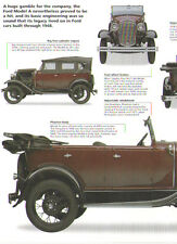 1930 Ford Model A Phaeton Article - Must See !!