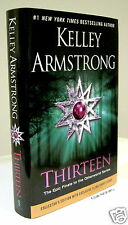 KELLEY ARMSTRONG THIRTEEN SIGNED COLLECTOR'S EDITION 1st PRINT NEW & UNREAD