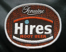 "HIRES ROOT BEER EMBROIDERED SEW ON PATCH ADVERTISING BEVERAGE SODA 3 1/2"" x 3"""