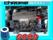 RED BLUE 1998 1999 CHEVY CHEVROLET MONTE CARLO Z34 3.8 3.8L V6 AIR INTAKE KIT