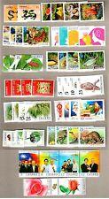 China Taiwan 2012 Whole Year of Stamps + Souvenir Sheets Full Dragon
