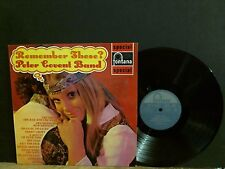 PETER COVENT BAND  Remember These?  LP  UK  Lounge Jazz Beat    Lovely copy!