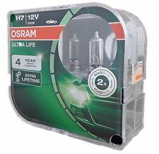 H7 OSRAM ultra Life extra Lifetime px26d 12v 55w 2er box halogen 64210ult-hcb