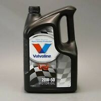 Valvoline Turbo 20W50 5L Motoröl f alle Fahrzeuge Mercedes Porsche Schmierstoff