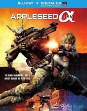 Appleseed Alpha (Blu-ray Disc, 2014) LIKE NEW