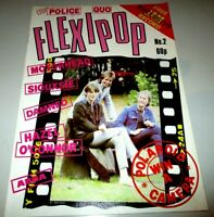 Flexipop #2/The Jam/Abba/Damned/Motorhead/Police/Staus Quo/Geldof/Hazel O'Connor