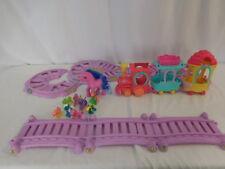 My Little Pony MLP Motorized Friendship Express 3 Train Set + Small Large Poni