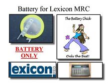 Battery for Lexicon MRC MIDI Remote Controller - Internal Memory Backup Battery