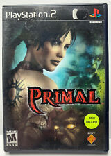 Primal for Sony Playstation 2 PS2 NTSC CIB Black Label Complete Mature