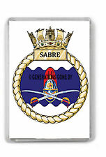 HMS SABRE FRIDGE MAGNET
